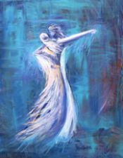 Bridal Dance (artwork 8X10) by Janice VanCronkhite