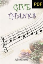 Give Thanks (E-Book Download) by Alice Sneed