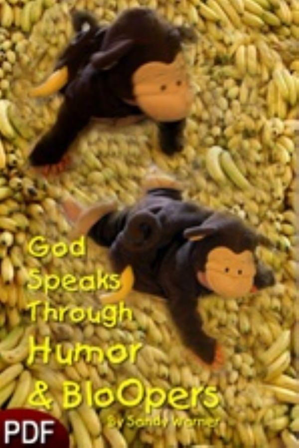 God Speaks Through Humor and Bloopers (E-Book Download) by Sandy Warner