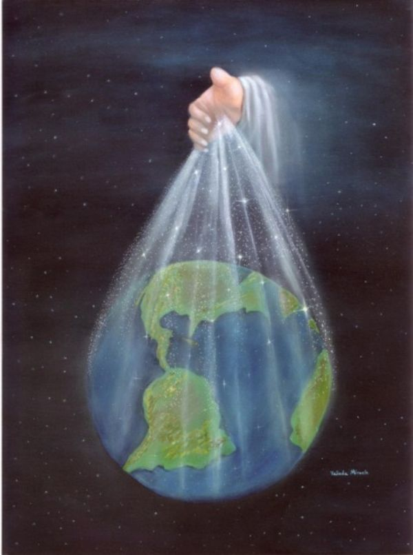 Outpouring (Prophetic Artwork 8x10) by Valinda Miracle
