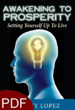 Awakening to Prosperity: Setting Yourself Up To Live (E-book PDF Download) by Jeremy Lopez